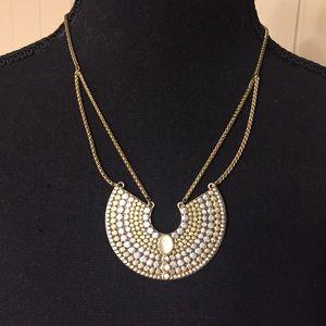 Lucky Brand Medallion Collar Necklace